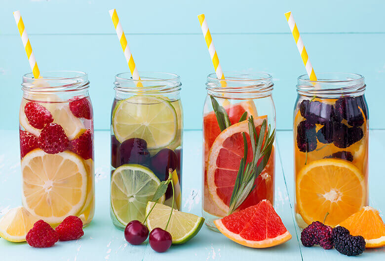 Beauty Boosting Infused Water