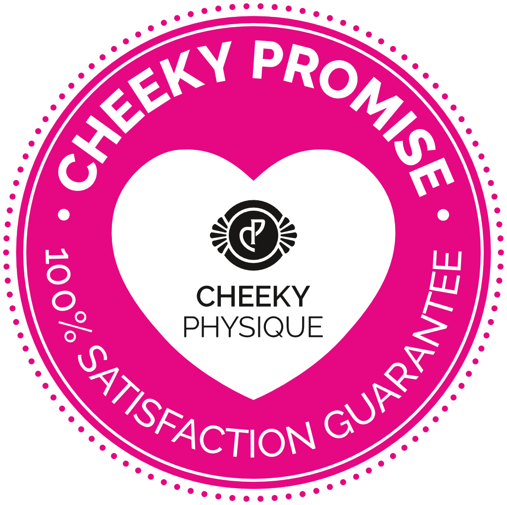Cheeky Physique Guarantee Badge