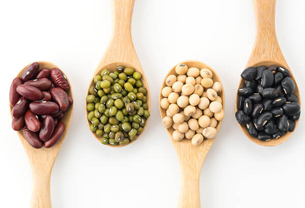 spoonful of legumes