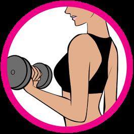 arm exercise icon